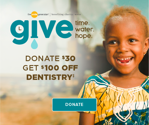 Donate $30, Get $100 Off Dentistry - Arcadia Modern Dentistry